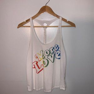 More Love Size Small Braided Tank Top